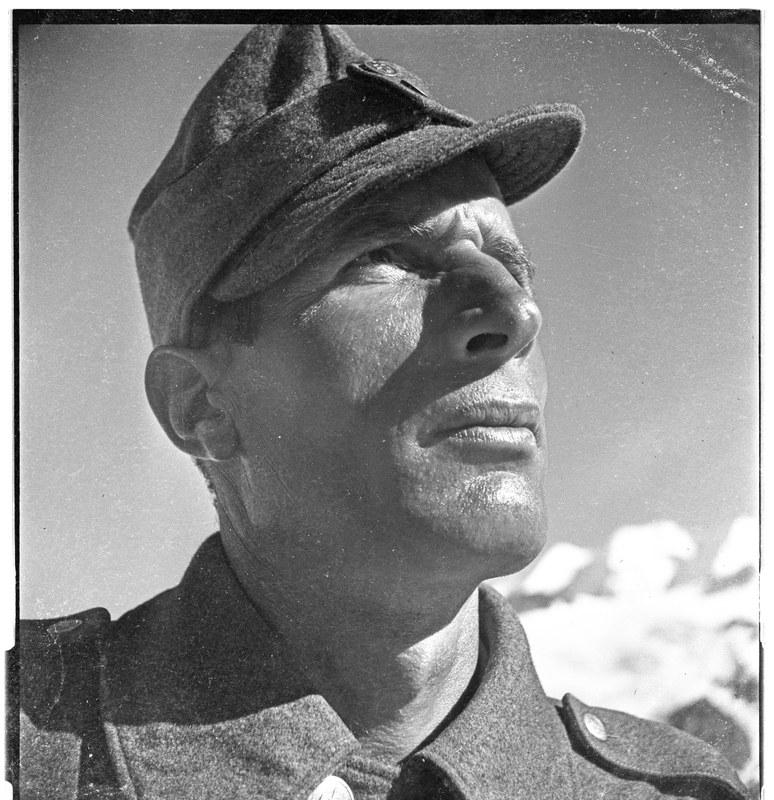 Das Gesicht des Gebirgssoldaten, 1939-1945. N Eugen Thierstein GS/47. Vergrösserte Ansicht